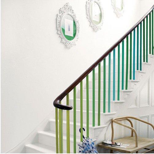Quelle Peinture Pour Une Balustrade D Escalier Maison